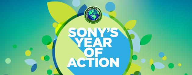 Sony's Year of Action Banner
